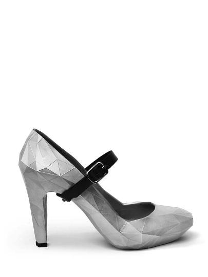 8d5f3abf0 Женские демисезонные туфли united nude серые артикул 5un.un53871. в  интернет магазине английской обуви UnitedNude.ru